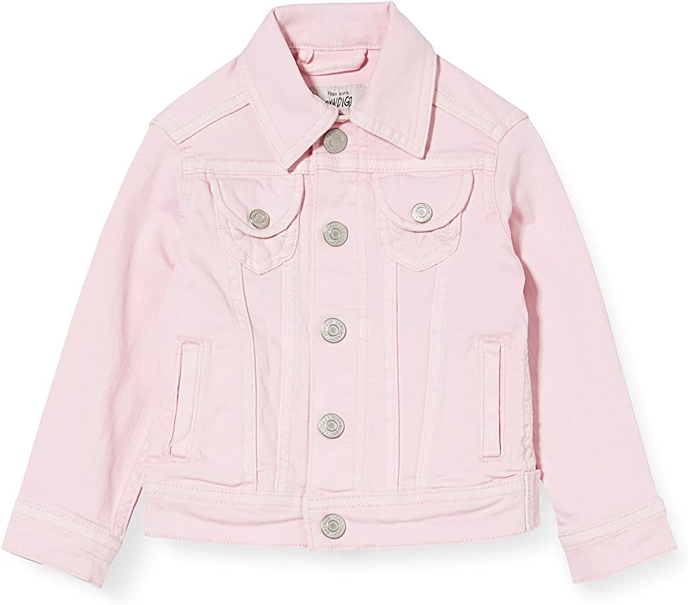 Pepe Jeans Girl's New Berry Jacket.