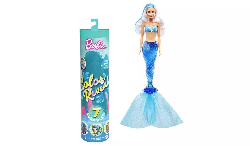 Barbie Colour Reveal Mermaid Surprise Doll