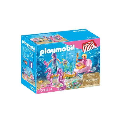 Playmobil Mermaids Seahorse Carriage Set