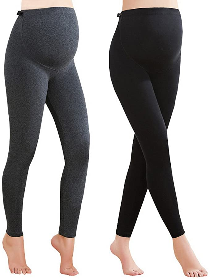 Foucome Two Pack Maternity Leggings.