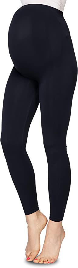 Anne's Styling Women's Maternity Leggings With Over Bump Support.