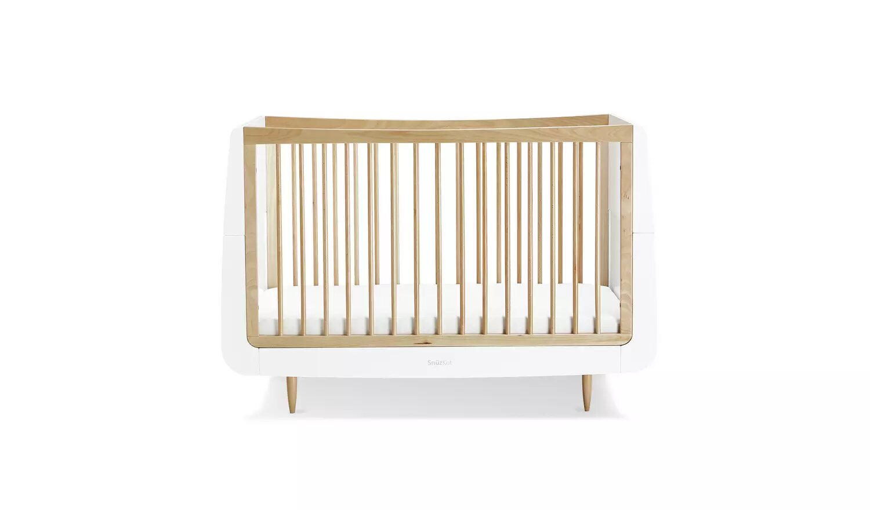 Snuz SnuzKot Skandi Baby Cot Bed.
