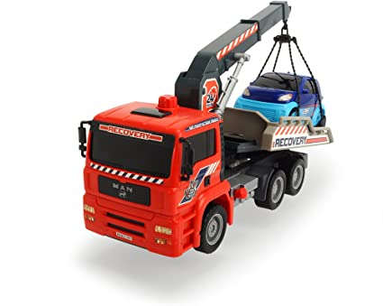 Dickie 203806000 Air Pump Tow Truck Toy Role