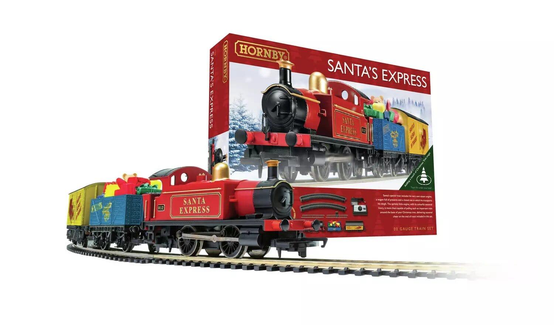 Santa's Express Christmas Hornby Train Set.