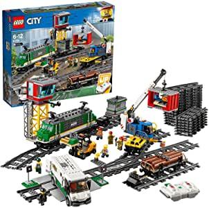 LEGO City Cargo Train Set.