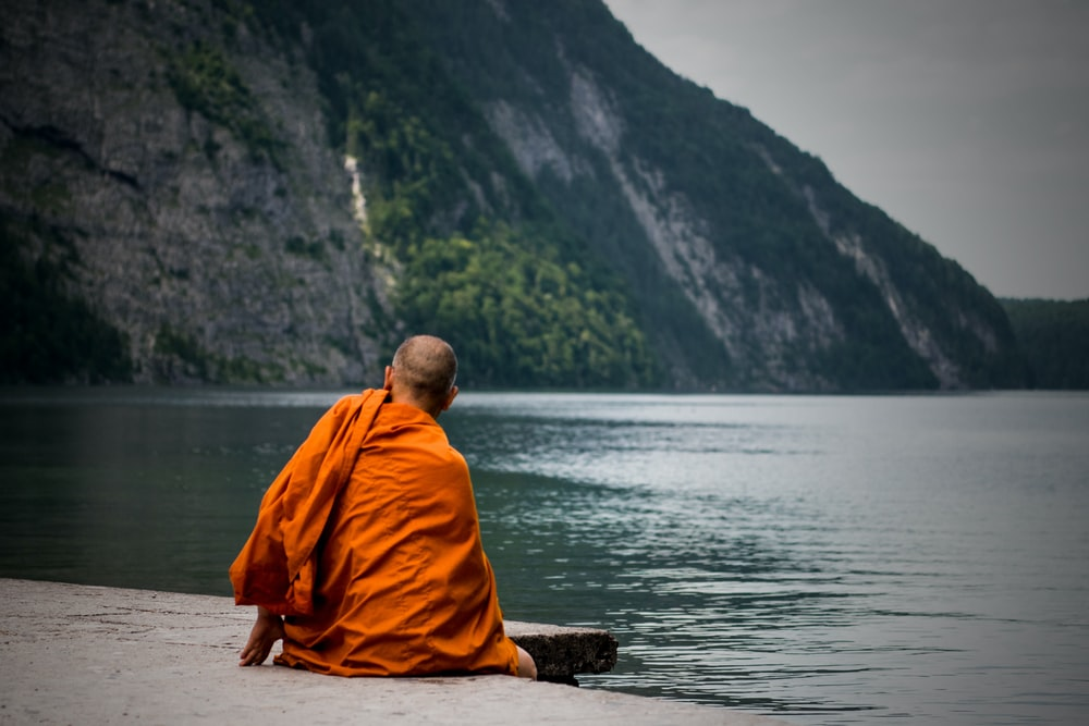 Monks seek spiritual fulfillment and enlightenment