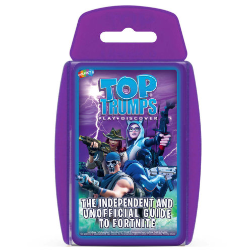 Independent And Unofficial Guide To Fortnite Top Trumps.