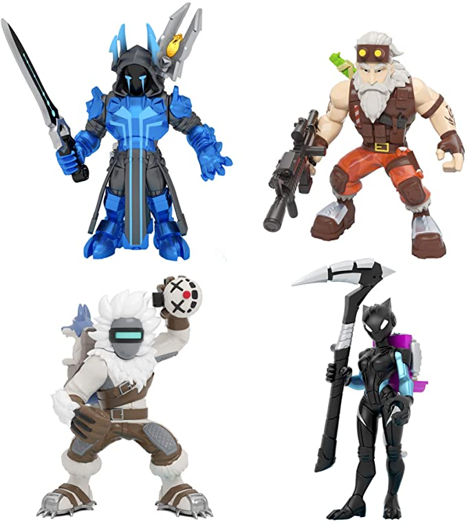 Fortnite Battle Royale Collection: Squad Pack Mini Action Figures.
