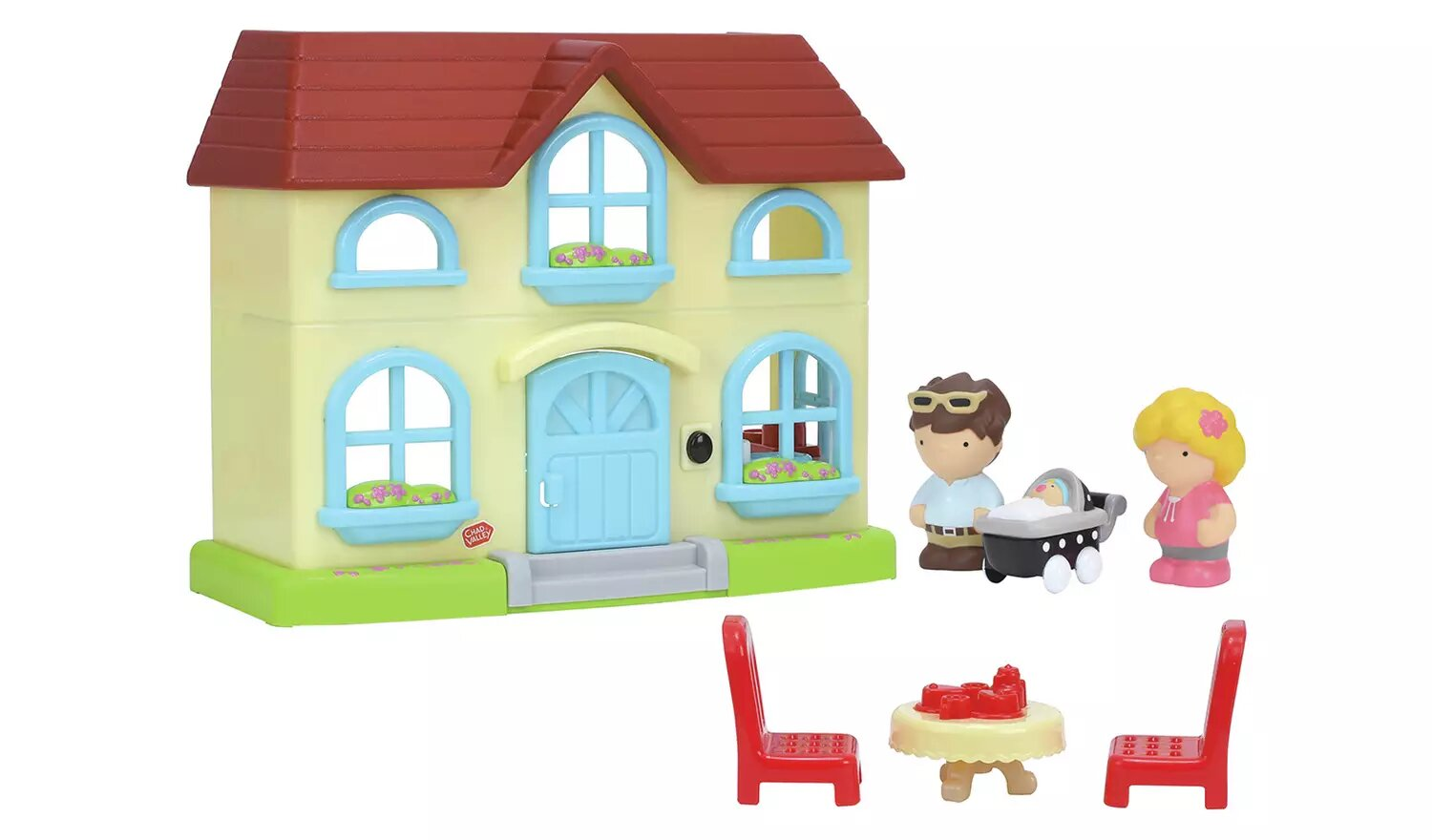Tots Town Cottage Play Set, Chad Valley.