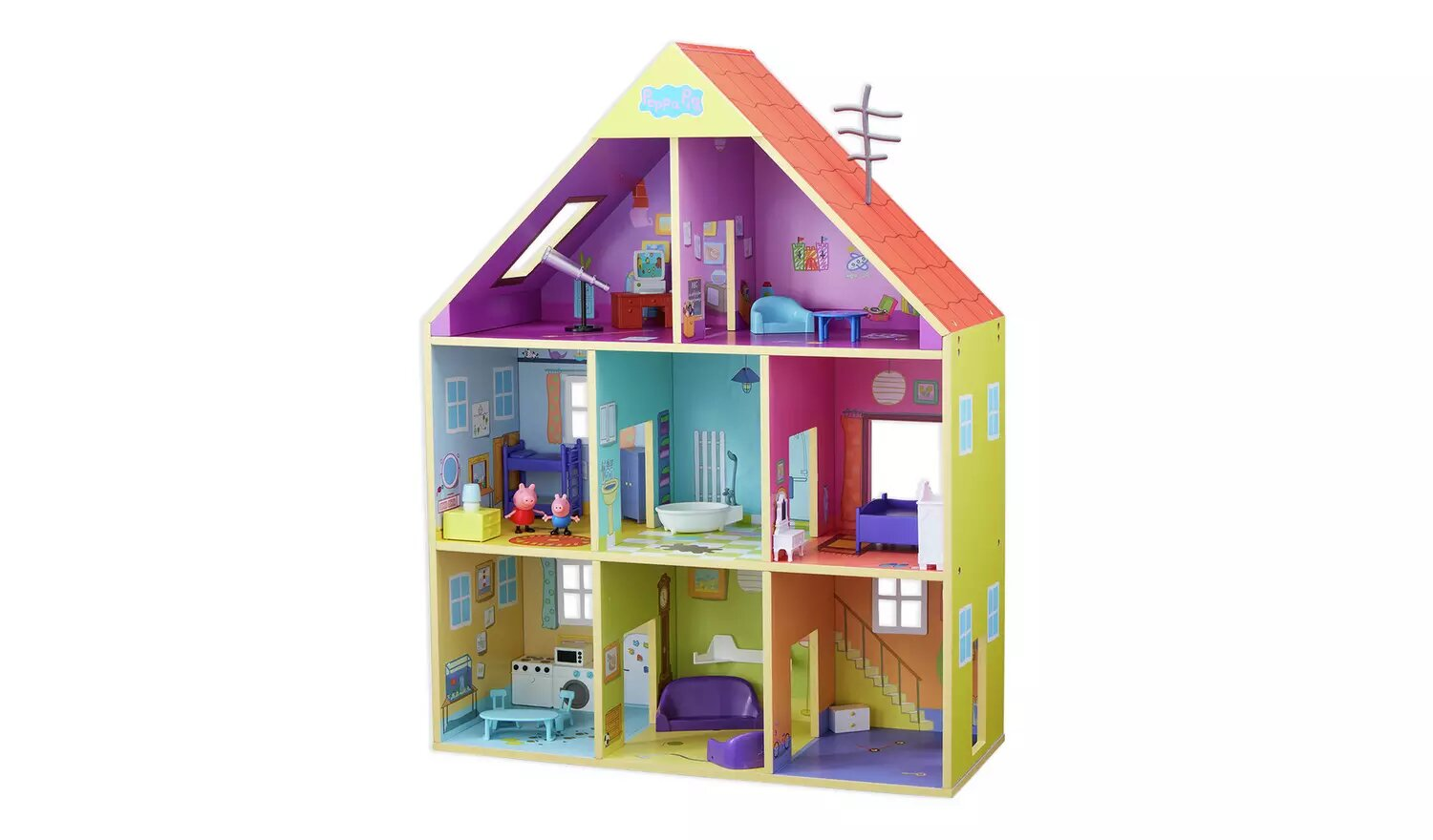 Deluxe Wooden Playhouse, Peppa Pig.