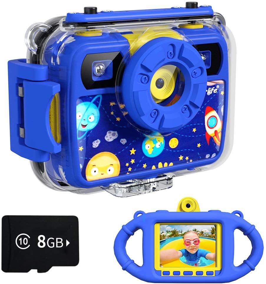 Ourlife Kids Waterproof Selfie Camera