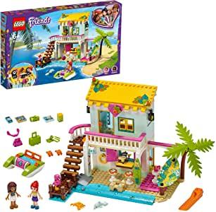 Mini Beach House Mini Dollhouse Playset, LEGO Friends.