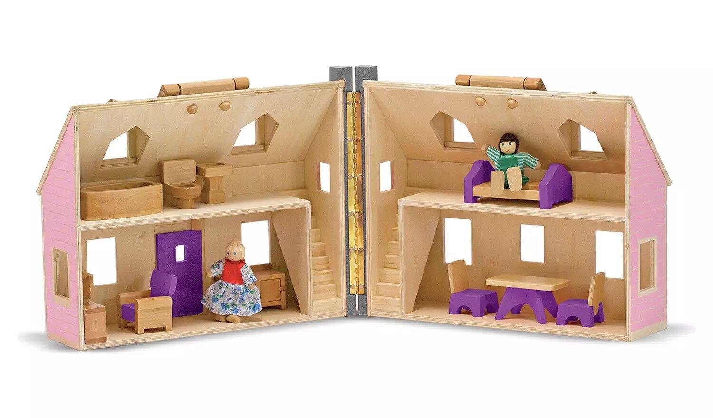 Fold And Go Dollhouse, Melissa & Doug.