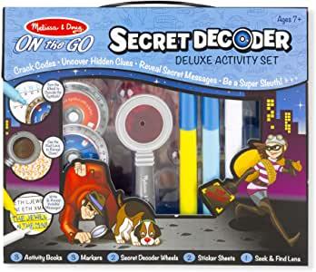 Melissa & Doug Secret Decoder Deluxe Activity Set.