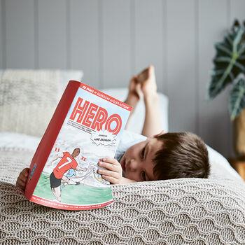 Soccer Star Personalised Football Comic Books.