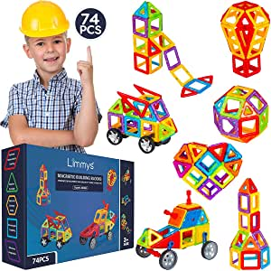Limmys Magnetic Building Blocks.