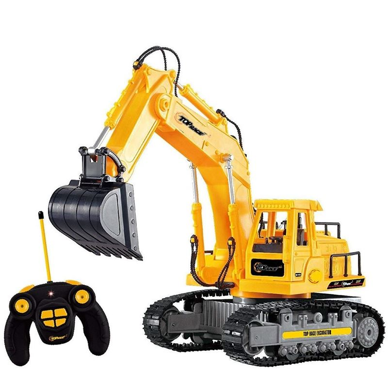 Top Race 7 Channel Full Functional RC Excavator.