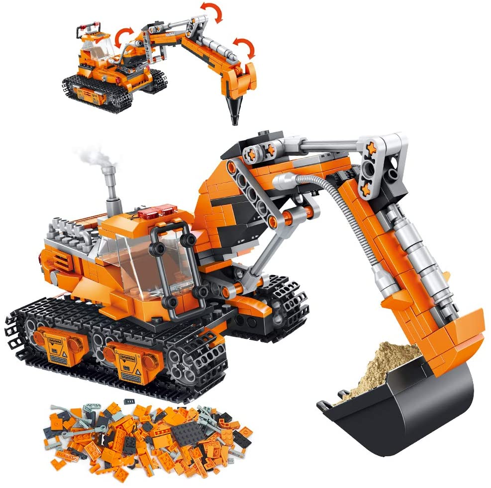 Vatos City Construction Excavator Set.