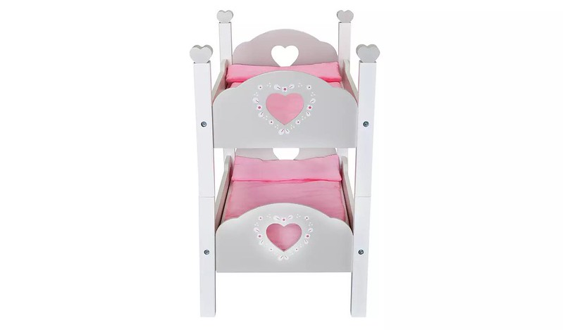 Chad Valley Babies To Love Wooden Doll's Bunkbed - Argos