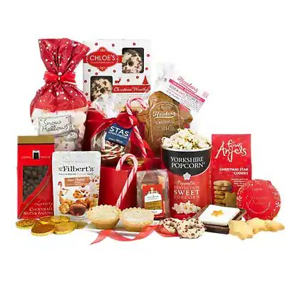 Christmas Tower of Treats Hamper - Bunches.