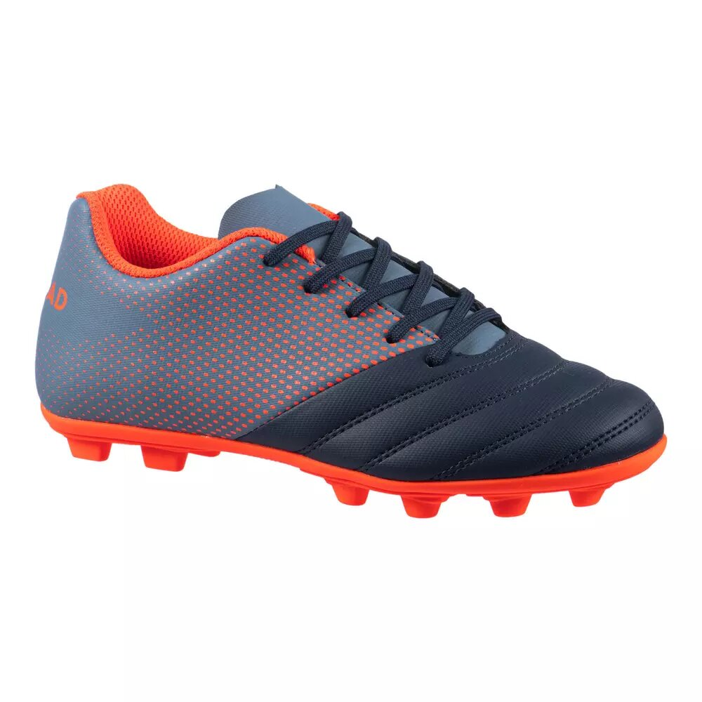 Decathlon Kids' Moulded Dry Pitch Rugby Boots.