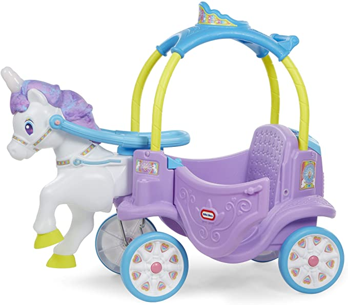 Little Tikes Magical Unicorn Ride.