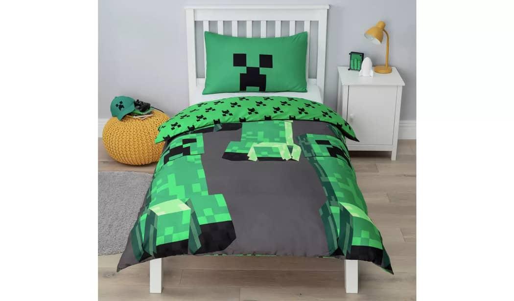Minecraft Bedding Set - Argos