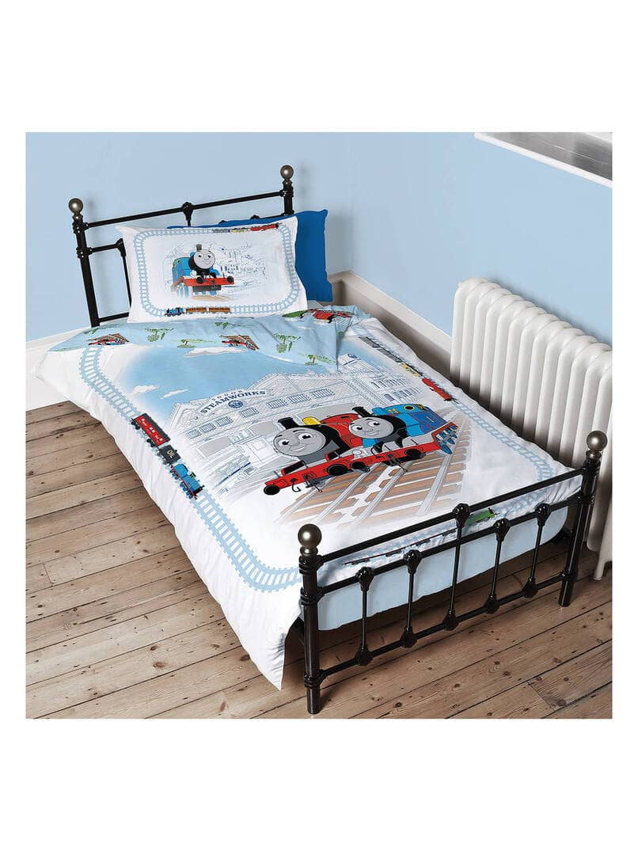 Thomas & Friends Single Duvet Cover and Pillowcase Set - John Lewis