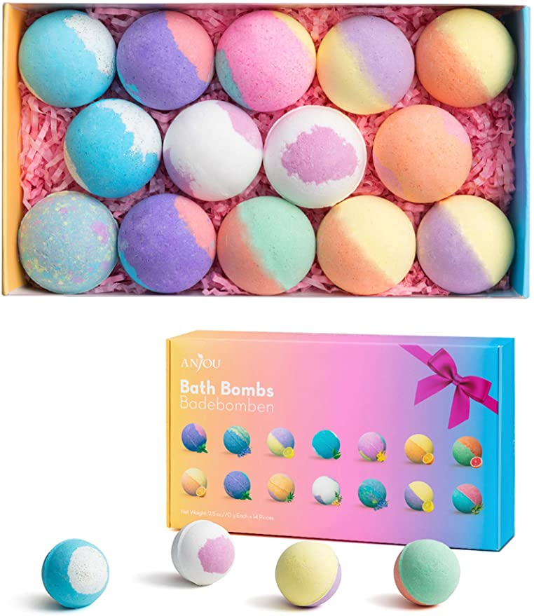 Bath Bombs Gift Set, Anjou.