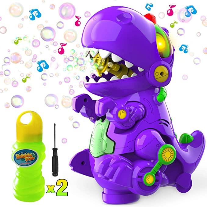 LUKAT Dinosaur Bubble Machine.