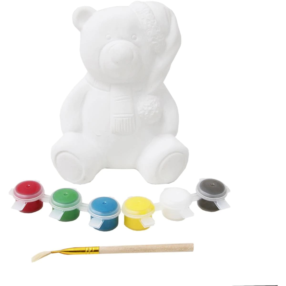 Hobbycraft Christmas Bear Money Box