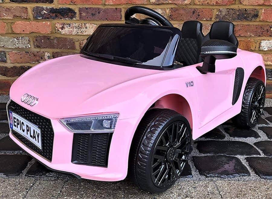 Audi Licensed Pink Battery Ride-On Car
