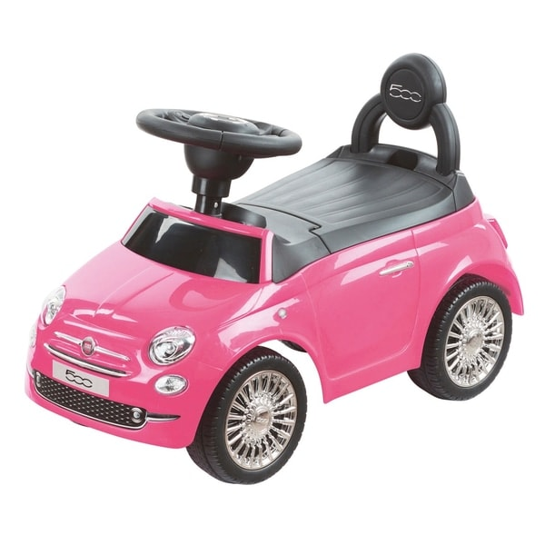 Fiat 500 Pink Ride On