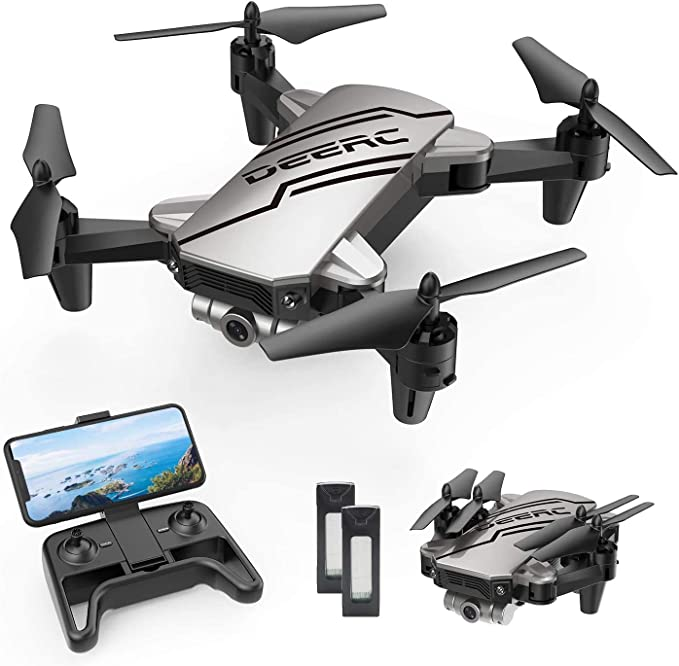 DEERC D20 Mini Drone For Kids With 720P HD FPV Camera.