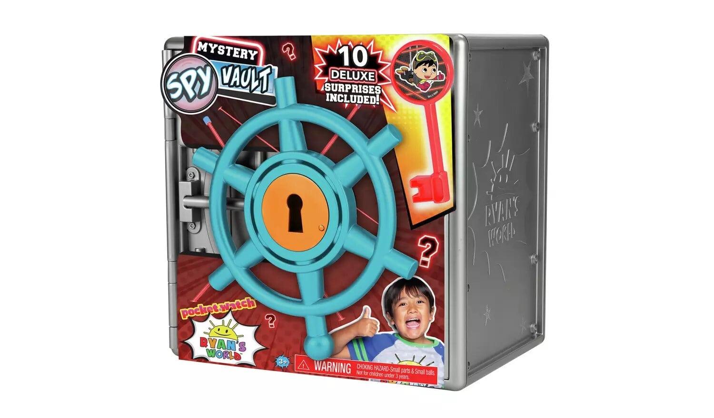 Ryan's World Mystery Spy Vault.