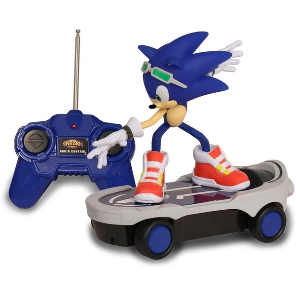 Smyths Remote Control Sonic The Hedgehog Free Riders  Racer.