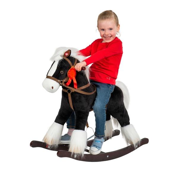 Smyths Black Rocking Horse.