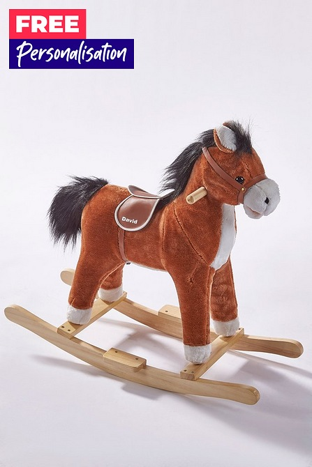 Studio Personalised Rocking Horse.