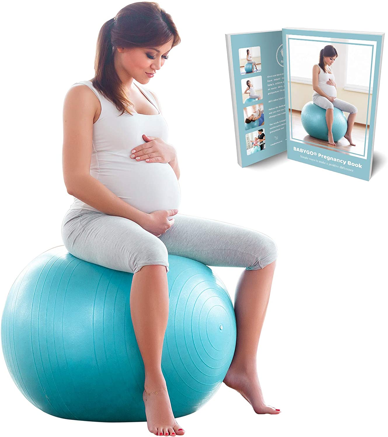 BABYGO Birthing Ball.