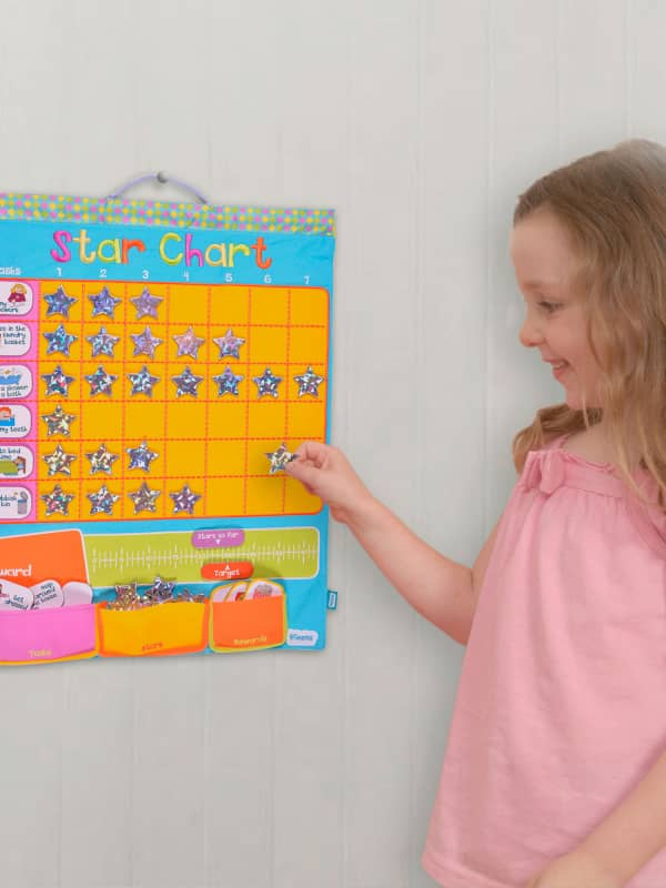 Fiesta Crafts Fabric Star Chart For Kids