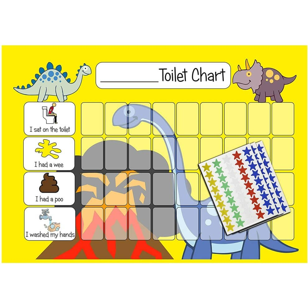 kids2learn Potty Training Reward Chart Pack