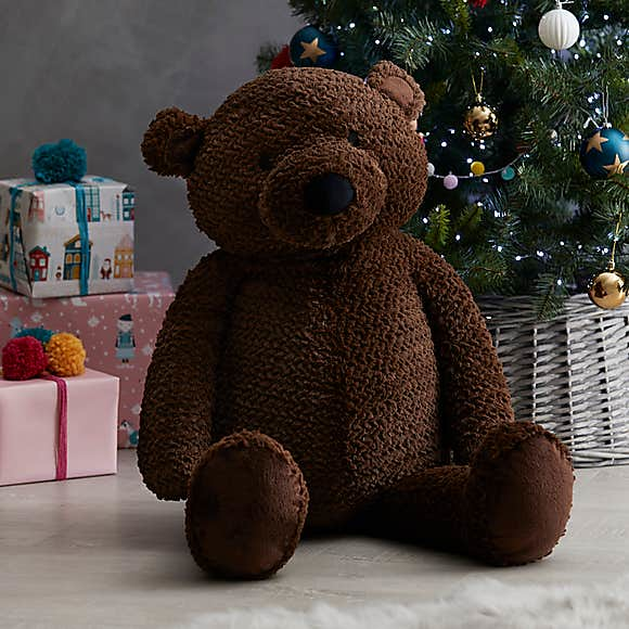 Jumbo Brown Teddy Bear - Dunelm