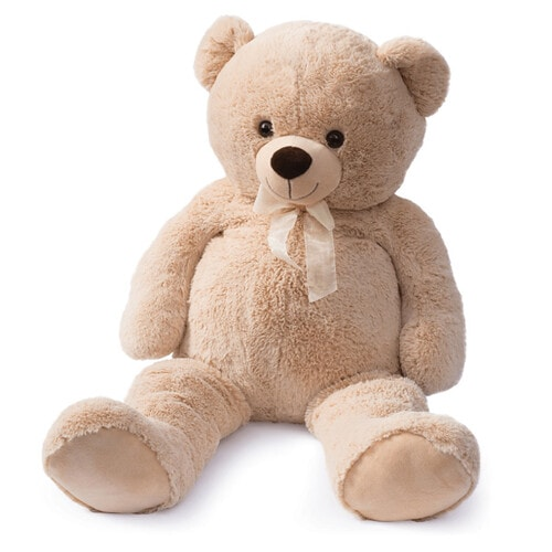 Snuggle Buddies 100cm Teddy Bear - The Entertainer Toy Shop