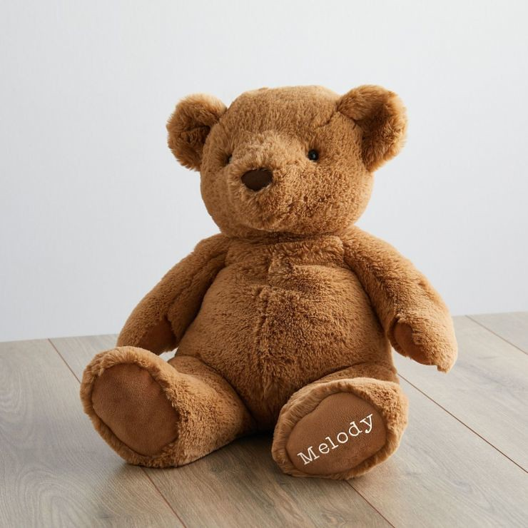 Personalised Super Soft Large Bear Soft Toy - My 1st Years
