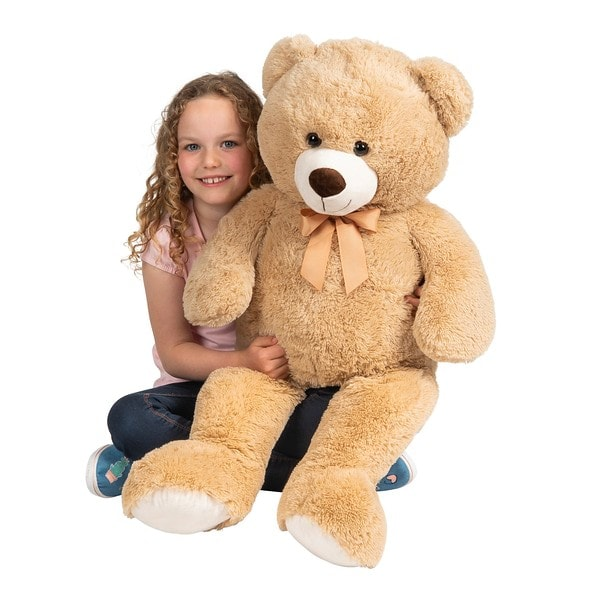 Brown Bear Plush 100cm - Smyths Toys