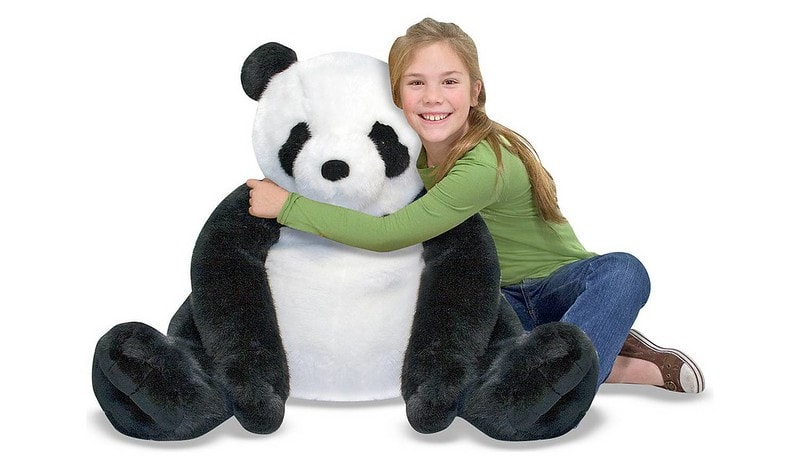 Melissa & Doug Panda Soft Toy - Argos