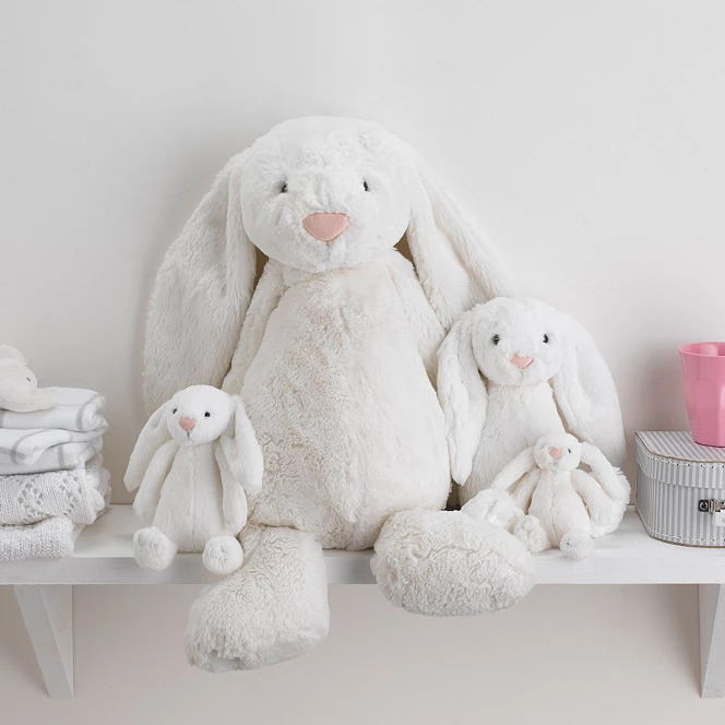 Jellycat Bashful Bunny Giant Toy - The White Company