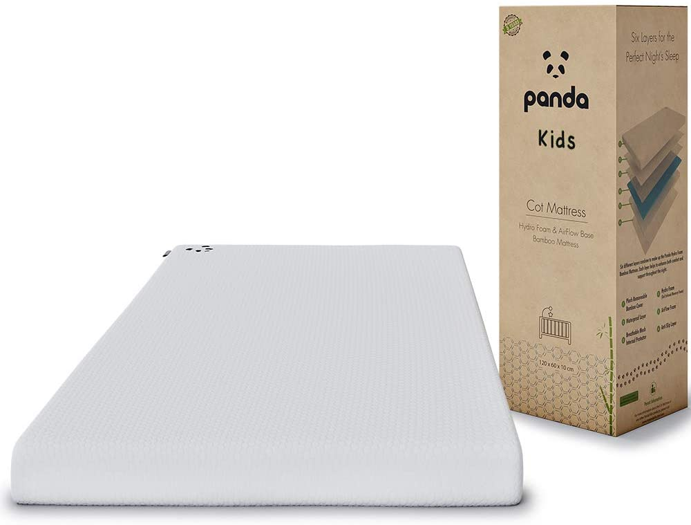 Panda Kids Memory Foam Bamboo Mattress‍.
