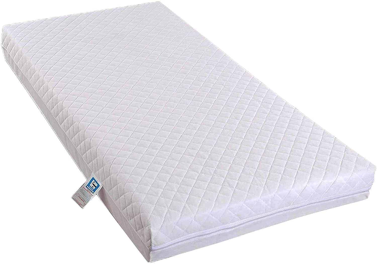 AirComfort Eco Breathable Quilted Extra Thick Cot Mattress.