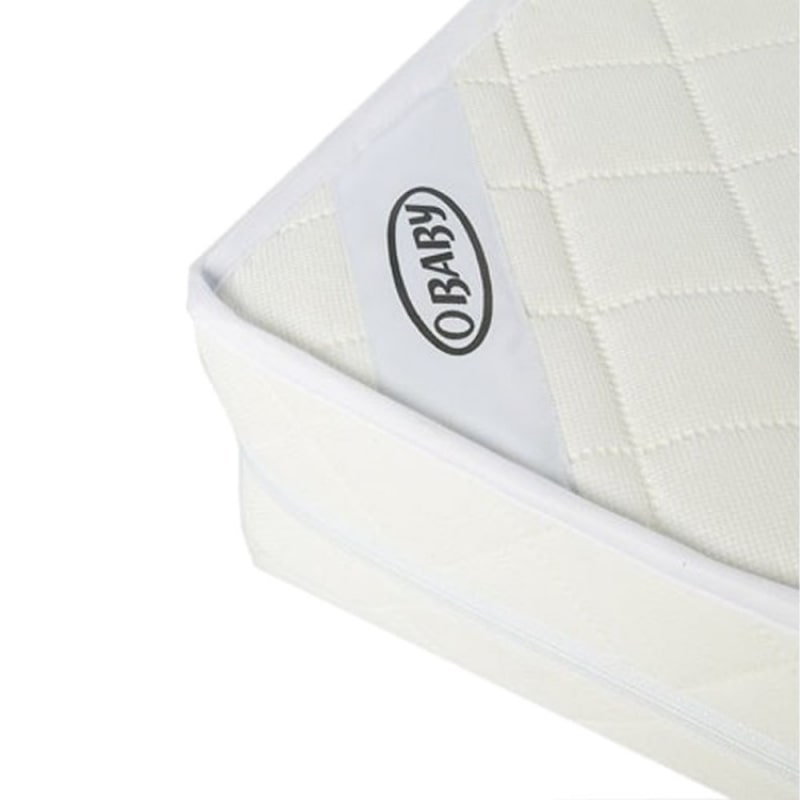 Obaby Superior Sprung Mattress For Cot Bed - Kiddies Kingdom.